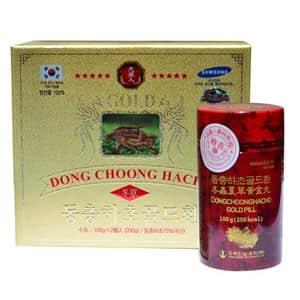 Viên đông trùng hạ thảo Dong Choong Hacho Gold